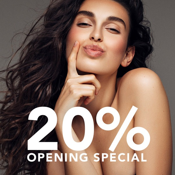 20% opening discount