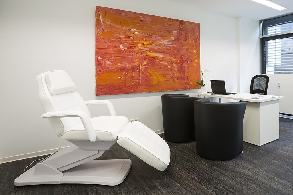 treatment room from our M1 Med Beauty clinic