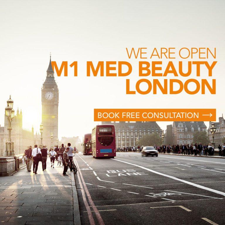 Now open: M1 Med Beauty London Finsbury