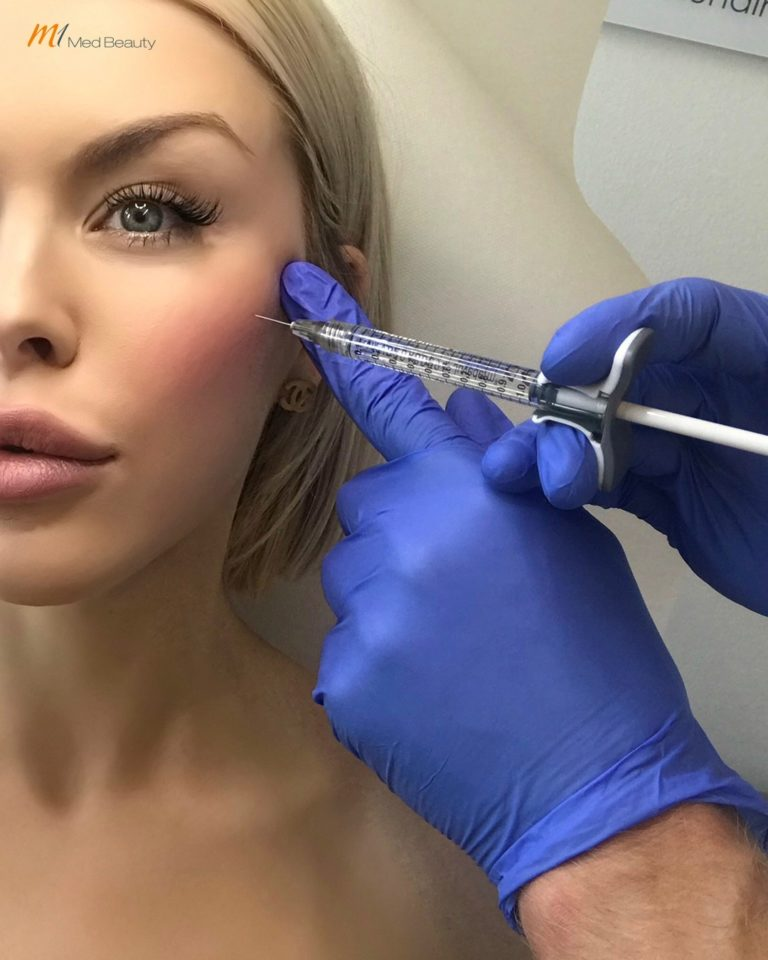 Dermal Filler injection at M1 Akademie