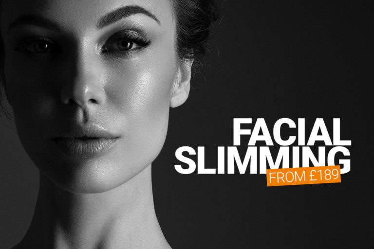 Facial slimming treatment at M1 Med Beauty