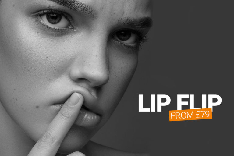 lip flip with anti-wrinkle injections