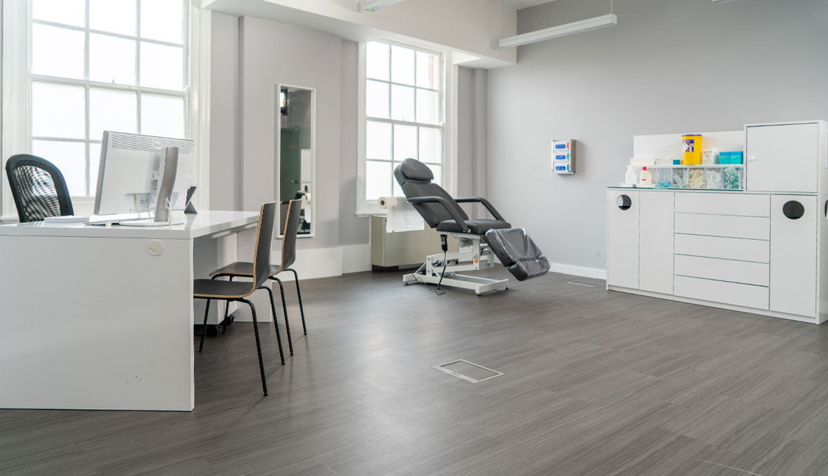 M1 Med Beauty Liverpool - treatment room 2