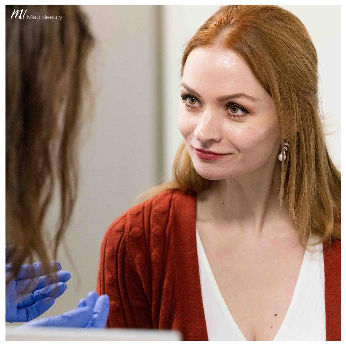 cheek filler treatment at M1 Med Beauty - consultation